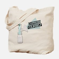 Express Yourself Breastfeeding Tote Bag
