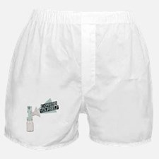 Express Yourself Breastfeeding Boxer Shorts