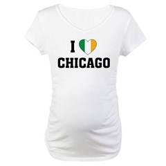 I Love Chicago Irish Shirt