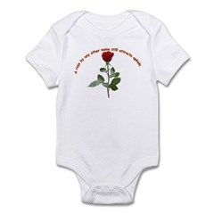 A rose by any other name Infant Bodysuit