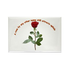 A rose by any other name Rectangle Magnet (10 pack