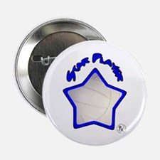 "Volleyball Star 2 2.25"" Button (10 pack)"