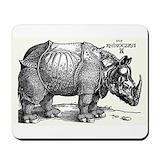 Durer rhinoceros Classic Mousepad