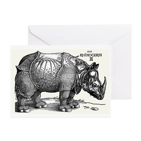 Rhino Greeting Cards (Pk of 10)