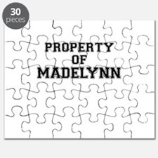 Property of MADELYNN Puzzle