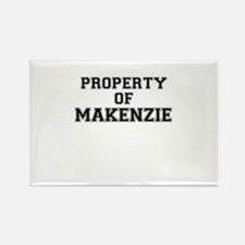 Property of MAKENZIE Magnets
