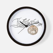 Elizabeth I Signature Wall Clock