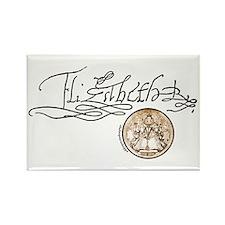 Elizabeth I Signature Rectangle Magnet (10 pack)