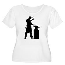 Blacksmith Silhouette T-Shirt