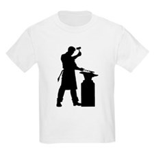 Blacksmith Silhouette T-Shirt
