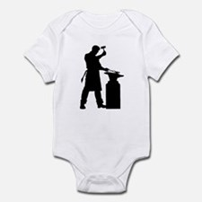 Blacksmith Silhouette Infant Bodysuit