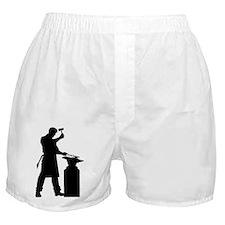 Blacksmith Silhouette Boxer Shorts