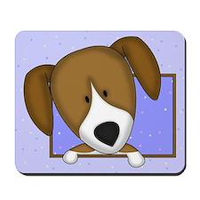 Cartoon Beagle Mousepad