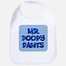 Mr. Poopy Pants Bib