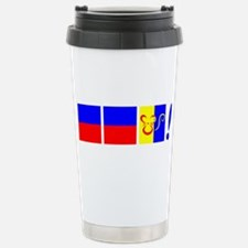 EEK! in Sailing Speak Travel Mug