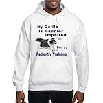 Collie Agility Hooded Sweatshirt