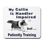 Collie Agility Mousepad
