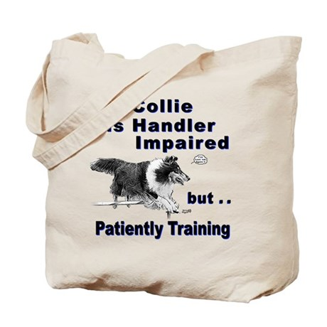 Collie Agility Tote Bag