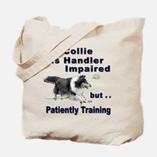 Collie Agility Tote Bag
