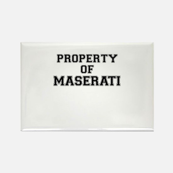 Property of MASERATI Magnets