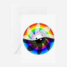 Peace Rainbow Greeting Card
