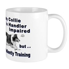 Collie Agility Mug
