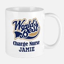 Charge Nurse Personalized Gift Mugs