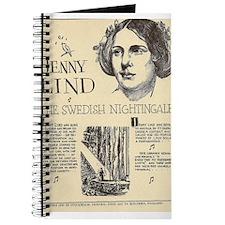 Cute Nightingale Journal