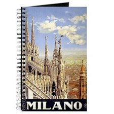 Milano Italia Vintage Journal