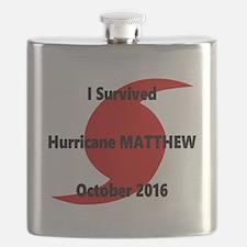 Hurricane Matthew Survivor Flask