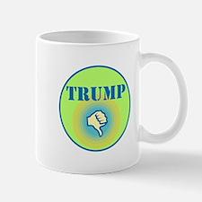 Thumbs down for Donald Trump Mugs