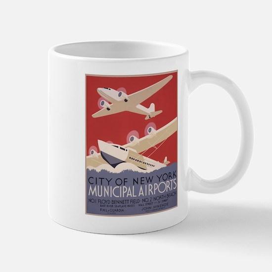 New York Airport Mug