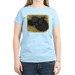 Black Bokhara Pigeon Women's Light T-Shirt
