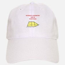geometry humor gifts t-shirts Baseball Baseball Cap