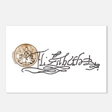 Elizabeth I Signature Postcards (Package of 8)