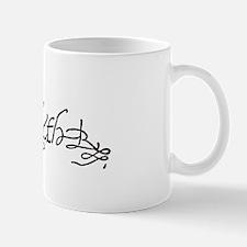 Elizabeth I Signature Small Small Mug