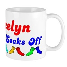 Gracelyn Rocks Socks (B) Mug