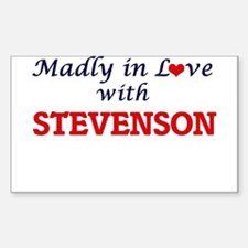 Madly in love with Stevenson Decal