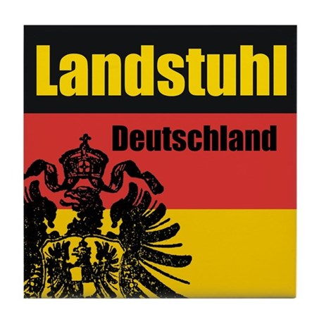 Landstuhl Deutschland Tile Coaster