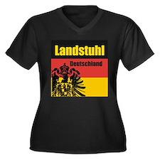 Landstuhl Deutschland Women's Plus Size V-Neck Da