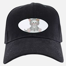 Gray Kitty Baseball Hat