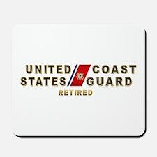 USCG Retired Mousepad