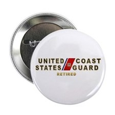 """USCG Retired 2.25"""" Button (100 pack)"""
