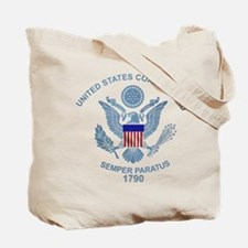 USCG Retired Tote Bag