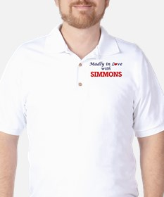 Madly in love with Simmons Golf Shirt