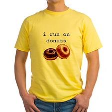 i run on donuts T