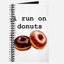 i run on donuts Journal