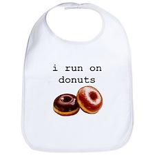 i run on donuts Bib