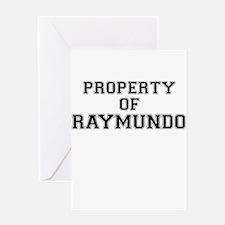 Property of RAYMUNDO Greeting Cards
