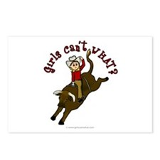 Light Bull Riding Postcards (Package of 8)